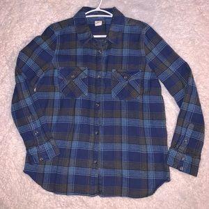O'Neill plaid button up shirt. BNWOT!